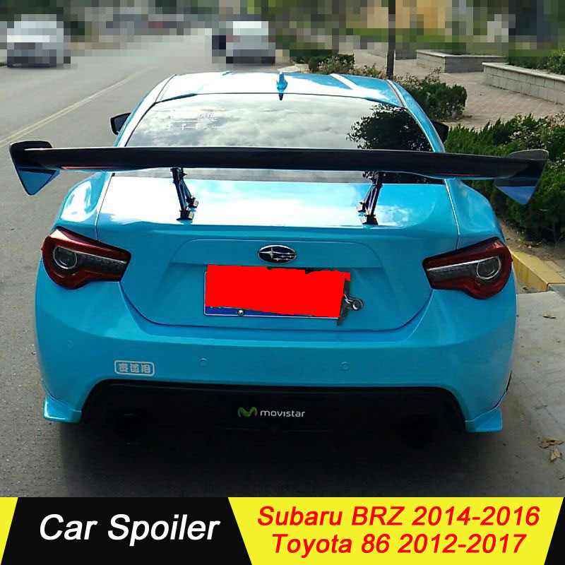 Carbon fiber spoiler for subaru brz toyota 86 high quality car tail wing decoration big spoiler for subaru brz and toyota GT86|Spoilers & Wings| |  - title=