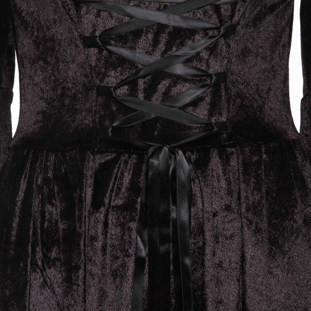 b81c7206084 Rosetic Long Maxi Dress Renaissance Bandage Medieval Gown Elegant Goth Lace  Flare Sleeve Slash Neck Retro Plus Size Female Dress-in Dresses from  Women s ...