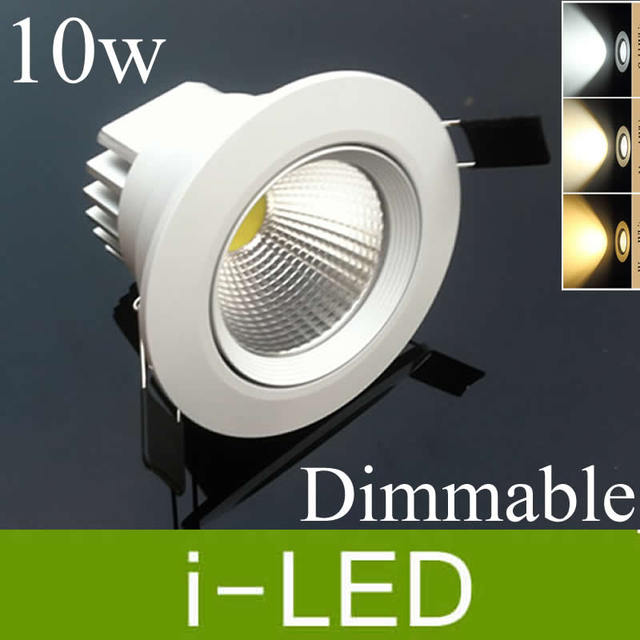 New arrival 10w cob led ceiling downlight led dimmable recessed new arrival 10w cob led ceiling downlight led dimmable recessed lights cabinet lamp warm cold white mozeypictures Images