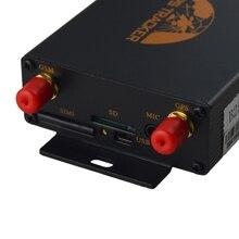 Автомобильный gps трекер gps 105B опциональный датчик топлива камера TK105B отслеживающее устройство пульт дистанционного управления Dual SIM топливо отключение Coban
