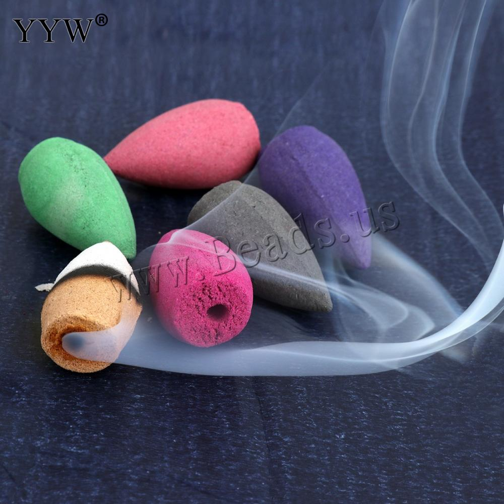45pcs/Bag Mixed Backflow Incense Cones Lavender Smoke Cone Scent Diffuser Reflux Tower Of Wierook