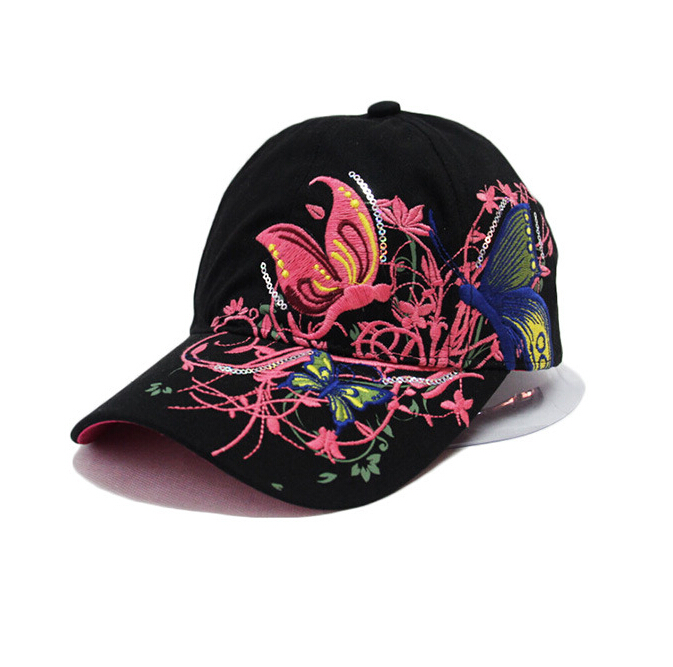 New Fashion China Style Baseball cap Fashion Leisure Flowers Hats Vintage  Adjustable Baseball Hat Cap For Women 2 colors-in Baseball Caps from  Apparel ... 33830247829a