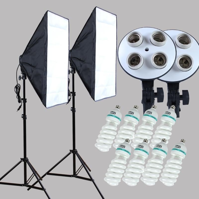 Yuguang Fotografisk 100-240v Fire-Socket-Lampholder med Kontinuerlig - Kamera og foto - Foto 1