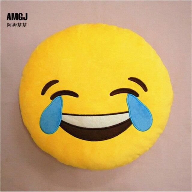 Novedad Wacky Emoji Emoji Smiley Emoticon Risa Grito De Peluche De