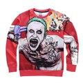 BAOLONG Dark Knight Joker Face 3d printed Cartoon felpa hoodies Autumn winter trasher clothing survetement vlone cardigan hoody