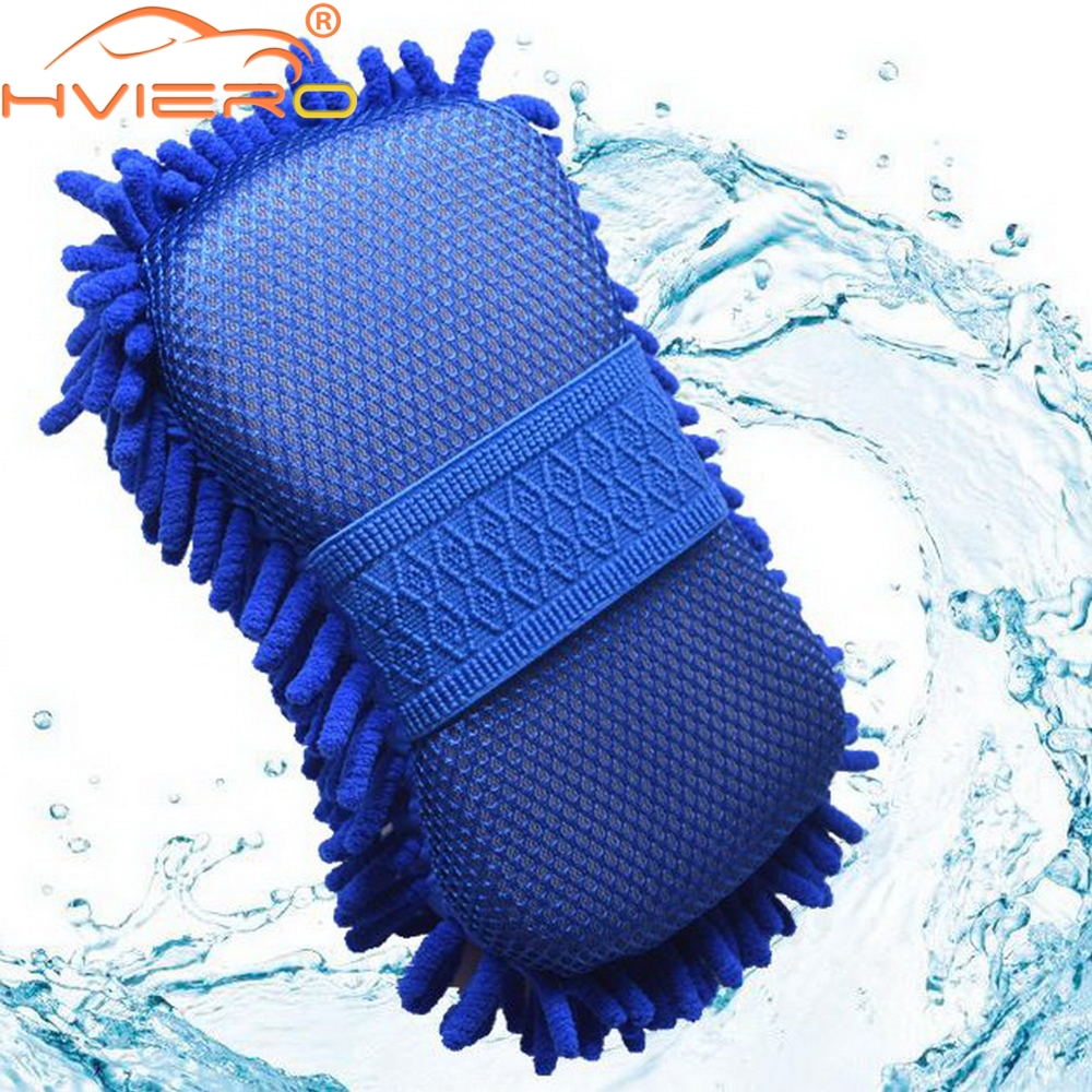 Car Styling Real Microfiber Car Motorcycle Washer Cleaning Care Detailing Brushes Washing Towel Auto Gloves Supplies Accessories 60 x 30cm multi functional microfiber nanometer car washing hand towel blue