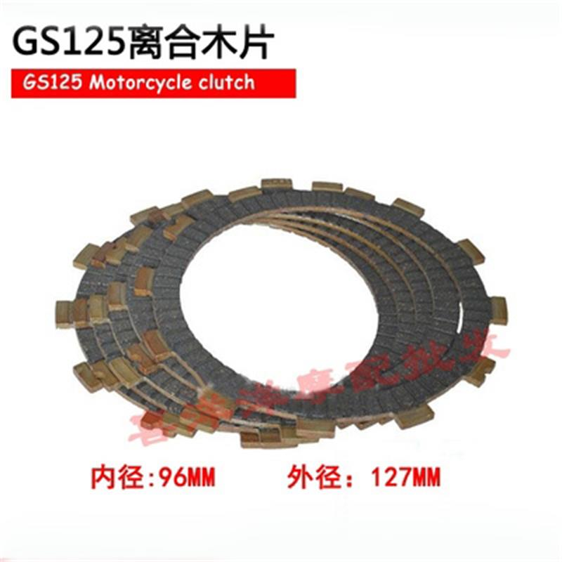 Motorcycle Clutches Parts Clutch Friction Plates Kit Set For Suzuki GS125 GS 125 125cc Replacement