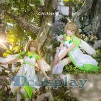 Love Live! Minami Kotori Angel Spirit Fairy Uniforms Cosplay Costume Free Shipping
