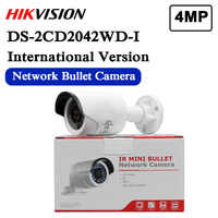 Free shipping english version DS-2CD2042WD-I 4MP IR Bullet Network Camera Support H.264+