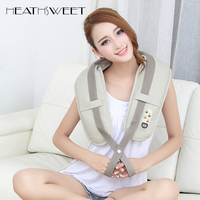 Healthsweet Neck Massager Electric Body Massage Home Car Back Neck Shoulder Massager U Shape Imitation Shawl
