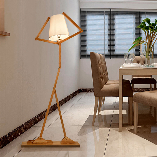 Led e27 nordic fabric wood iron robot led lamp led light led floor led e27 nordic fabric wood iron robot led lamp led light led floor lamp floor light mozeypictures