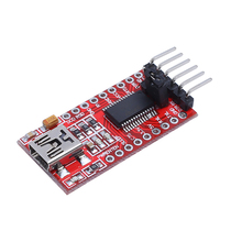 FT232RL Module High Quality 3.3 5.5V FTDI USB To TTL Serial Adapter Amplifier Module For Arduino Mini Port yn4561i isolation liuhe a serial module usb 485 422 232 ttl cp2102 cross serial port