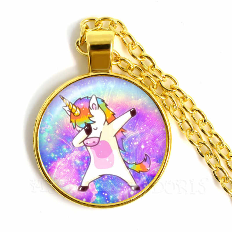 Hot Sale Friendship Best Friends Girls Gift Dainty Unicorn Pendant Necklace Women Men Sweater For Kids Gift