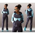 2016 Women's Tracksuits Print Letter Autumn Hoodie For Women Tops Long Pants Woman 2pc Set Women sporting Suits Jogging Suits