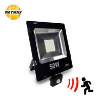 Outdoor Led FloodLight With Motion Sensor PIR Sensor Led Flood Light IP65 10w 20w 30w 50w