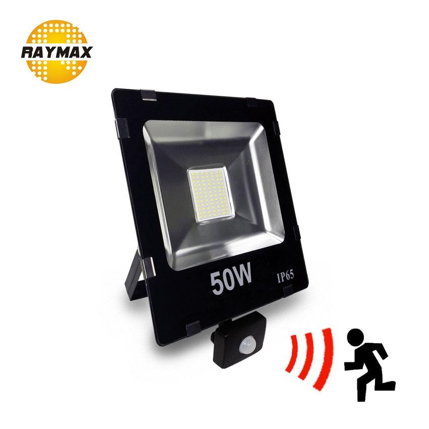 Outdoor Led FloodLight with motion sensor PIR sensor led Flood light IP65 10w 20w 30w 50w led security outdoor ulrta bright IP65