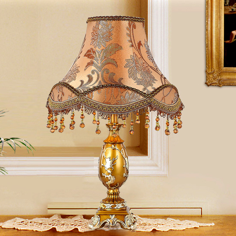 Table Lamps Europe Style With E27 Holder For Bedroom