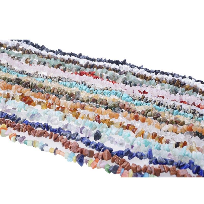5-8mm natural ágata pedras preciosas chips contas para pulseira colar brincos jóias fazendo artesanato design cura contas soltas hk058