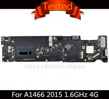 Tested Motherboard for MacBook Air 13″ A1466 2013 2014 i5 1.3GHz 1.4GHz 4GB i7 1.7GHz 4G 8G RAM 2015 i5 1.6GHz 4G logic Board