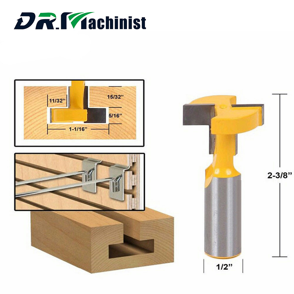 Straight Edge T Type Knife Engraving Machine Woodworking Milling Cutter Carpentry Cutter of Engraving Woodworking Tools