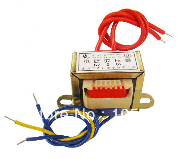 15W EI Ferrite Core Input 220V 50Hz Vertical Mount Electric Power Transformer Output Voltage ei 57 model ei ferrite core 220v 50hz input ac 24v 30va 30w output power transformer
