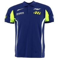 Free Shipping 2017 Motorcycle MotoGP Valentino Rossi VR46 Movistar Polo Shirt The Doctor For Yamaha M1