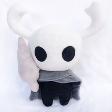 Hot Game Hollow Knight Plush Toys Figure Ghost Plush Stuffed Animals Doll Brinquedos Kids Toys for Children Birthday Gift 30cm цена 2017