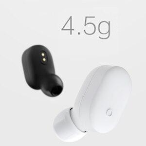 Image 3 - שיאו mi אלחוטי Bluetooth אוזניות mi ni אוזניות Bluetooth 4.1 שיאו mi mi LYEJ05LM אוזניות לבנות mi c עם יד מנות בחירה