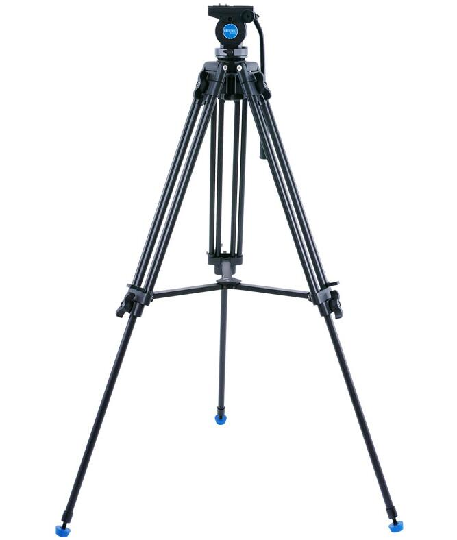 BENRO KH25N KH-25N Portable Aluminium Tripod for Professional Camcorder/Video Camera/DSLR Tripod Stand,with Hydraulic Ball Head штатив benro kh 25n