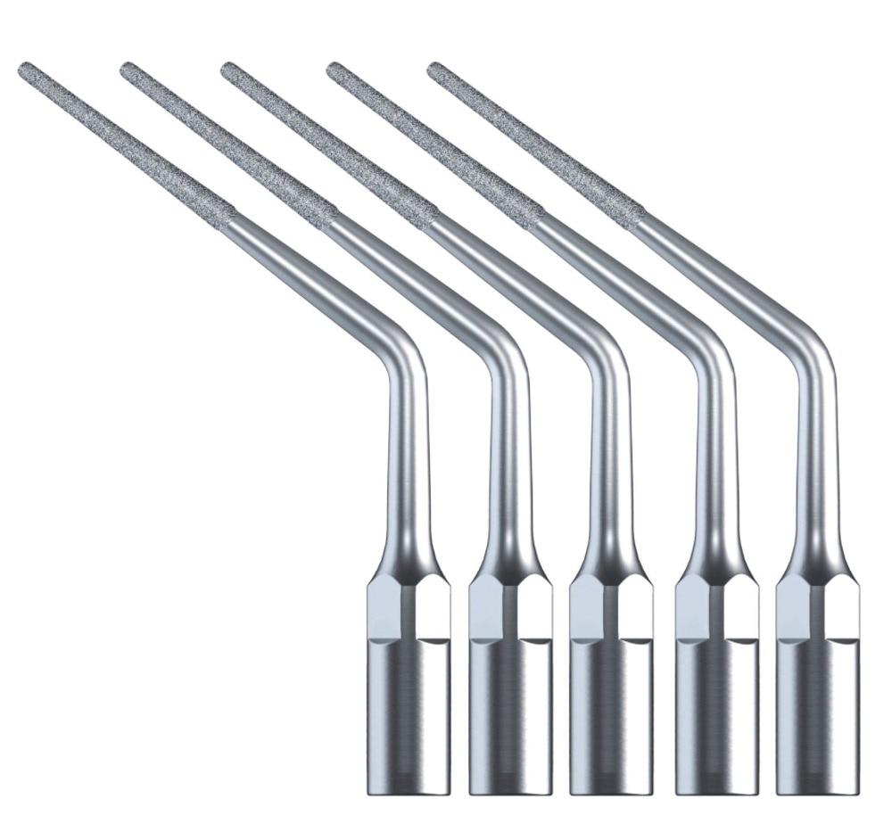 5 pcs Dental Endo Endodontics Tips DTE SATELEC Ultrasonic Scaler Diamond ED3D dental endodontic root canal endo motor wireless reciprocating 16 1 reduction
