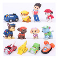 New Toys 12 Pcs/Set Patrol Puppy Dog Toy Childrens Anime Action Figure Toy Mini Figures Patrol Dog Model Toys