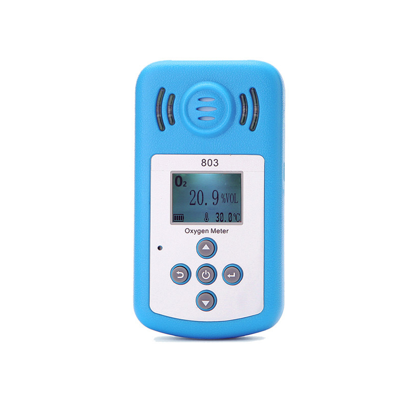803 Digital Oxygen Meter Portable Oxygen O2 Concentration Detector O2 tester Gas Analyzer LCD Display and