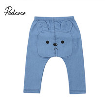 0-3Y Infant Baby Boys Girls Clothes Denim Clothing Long Pants Bottoms Kids Trousers(China)