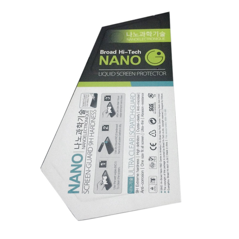 NANO Tech Liquid Screen Protector Invisible Shield for Smartphones