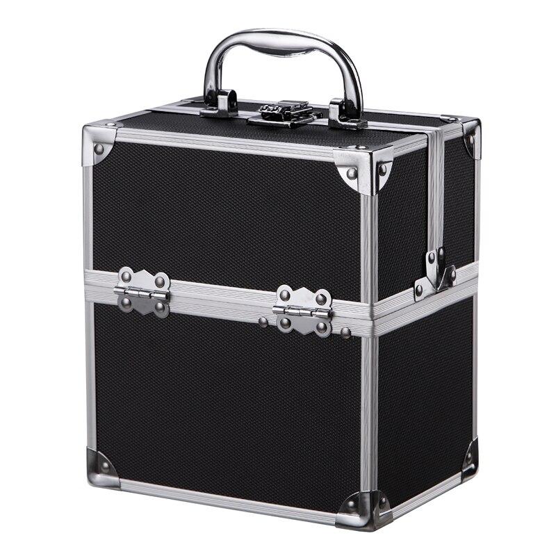 Small Hard Aluminium Flight Case Tool Storage Box Camera Photography Portable Tool Box