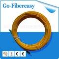 10 Metros De Fibra Óptica Patch cord LC/UPC para LC/UPC Simplex SM 9/125 Único modo de fibra óptica cabo, cabo de PVC