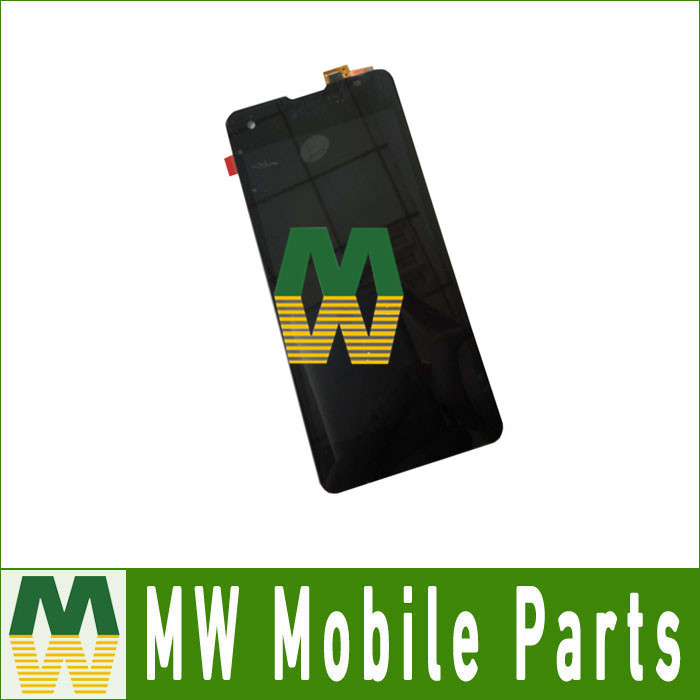 1PC Lot High Quality For 4 7 Highscreen Omega Prime S LCD Display Touch Screen Digitizer