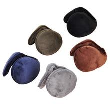 SEWS 1 set Plush Warm earmuffs Solid color Earmuffs
