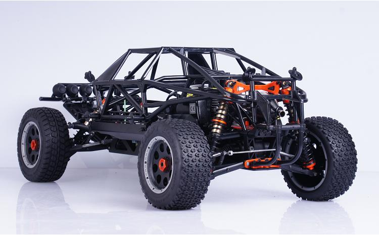 Completa Proteção Interna Roll Bar Gaiola para 1/5 HPI KM Rovan Baja Terminator 5 T 5SC T1000 Caminhão - 4
