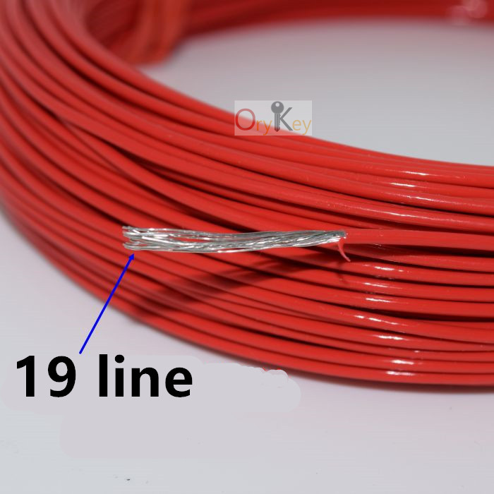 50M//Roll Traffic Inductive Loop Vehicle Detector Induction Coil Wire Cable