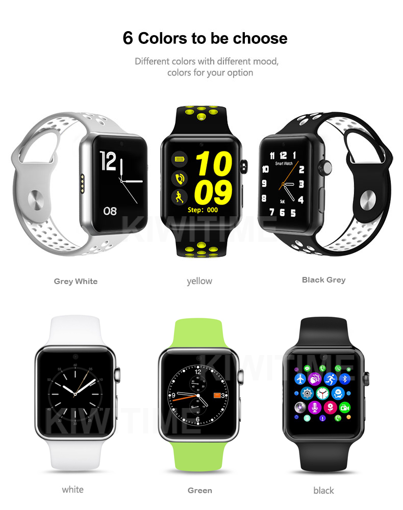 Smart Watch Connect with Camera SIM Card Series 2 Men Women SmartWatch for  iOS Sony 3 Android Phone Watch