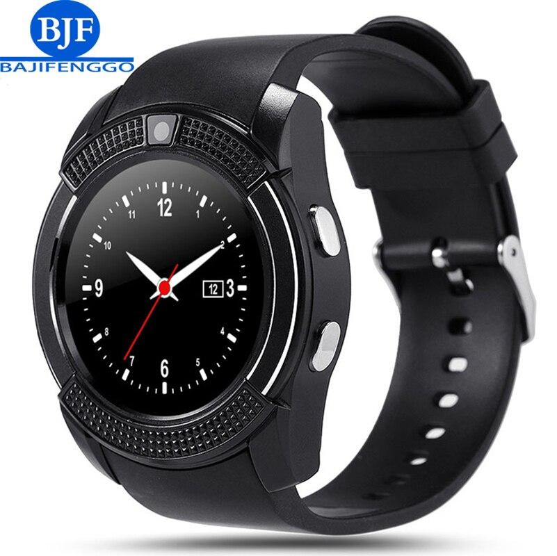 imágenes para Q7 bluetooth reloj inteligente para android apoyo SIM TF hombres mujeres reloj reloj inteligente para Samsung teléfono PK Q18 GT08 GV18