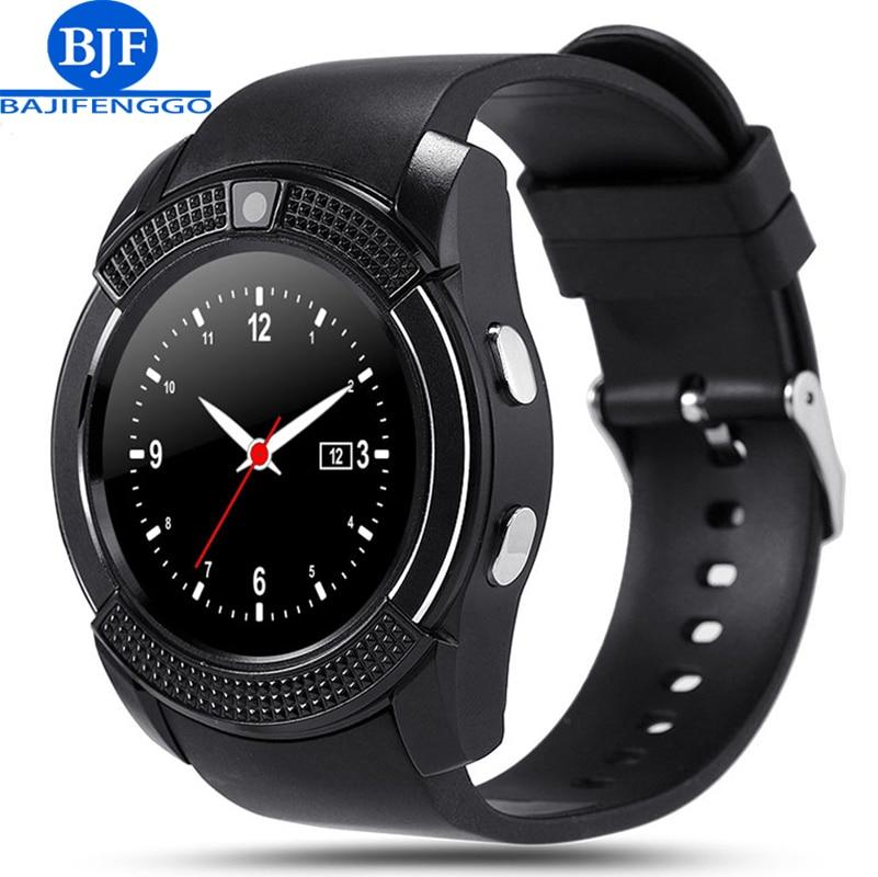 Q7 bluetooth smart watch for font b android b font support SIM TF men women reloj
