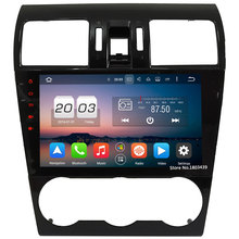 "9 ""WiFi 4G Octa Core 2 GB RAM Android 6.0 DAB + 32 GB ROM Radio del coche DVD Multimedia Player Para Subaru Forester XV WRX 2014-2016"