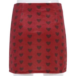 Image 5 - Женская Бархатная мини юбка с завышенной талией, на молнии