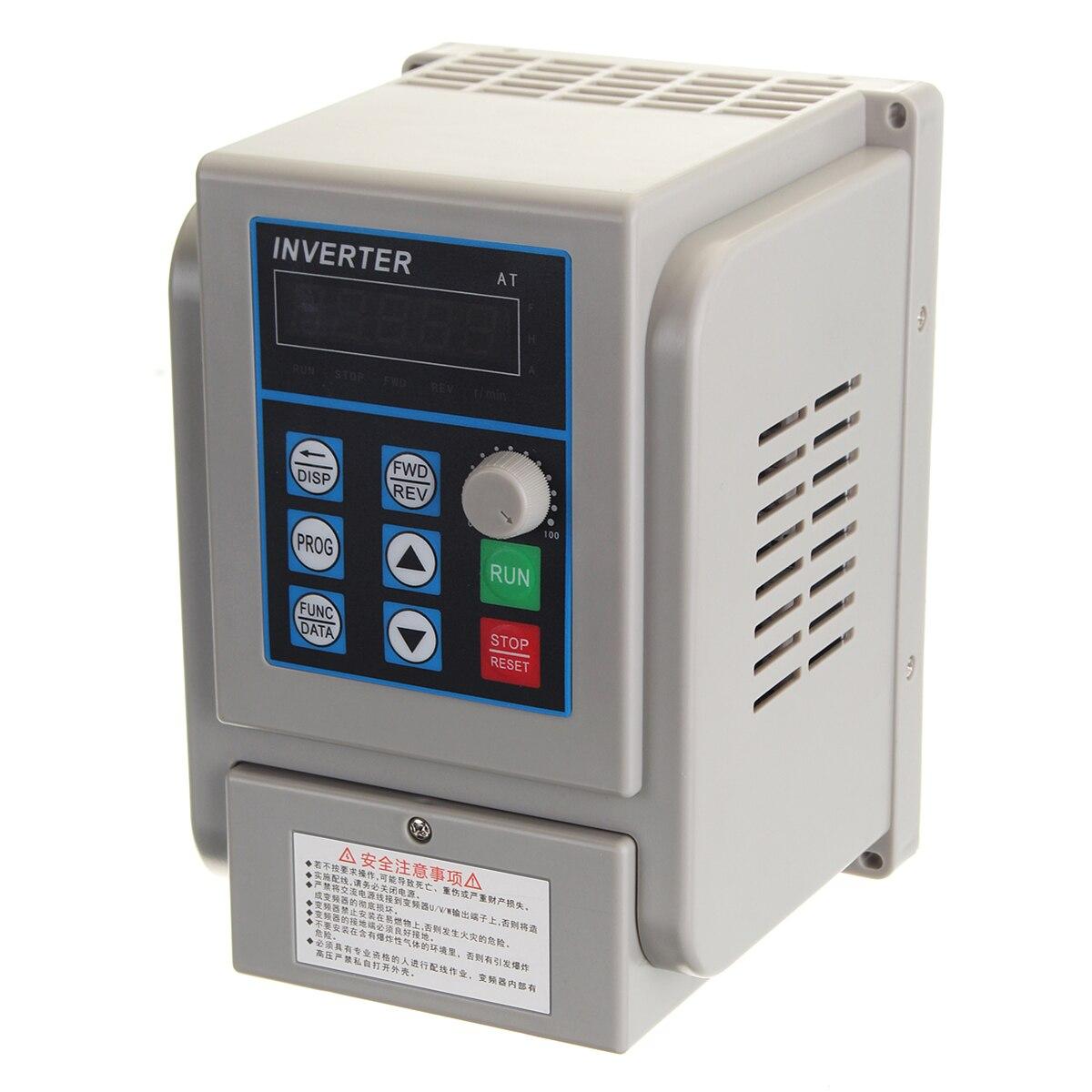 220 v 2.2KW entrée Monophasée et 3phase Sortie Convertisseur De Fréquence/Convertisseur De Fréquence/moteur De Broche CNC vitesse contrôle/VFD