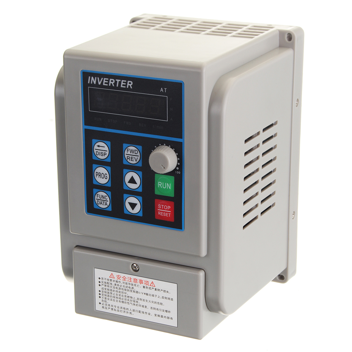 220V 2.2KW Single Phase input and 3 Phase Output Frequency Converter / Frequency Inverter /CNC Spindle motor speed control/ VFD