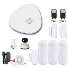 Yobang секьюритти приложение управление WiFi домашняя охранная сигнализация дом пожарная сигнализация охранная система ip-видеокамера датчик дыма пожарный детектор