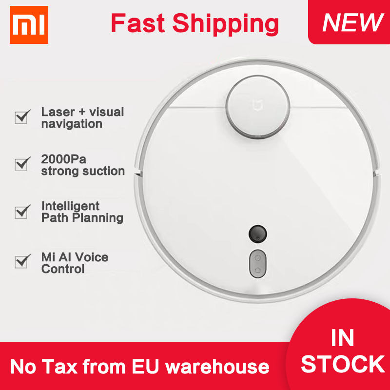 2019 New Xiaomi Mi Robot Vacuum Cleaner 1S for Home Automatic Sweeping Charge Smart Planned WIFI
