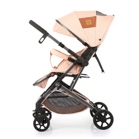 ultra leve carrinho de crianca dobravel portatil two way pode sentar reclinaveis four wheel invertendo